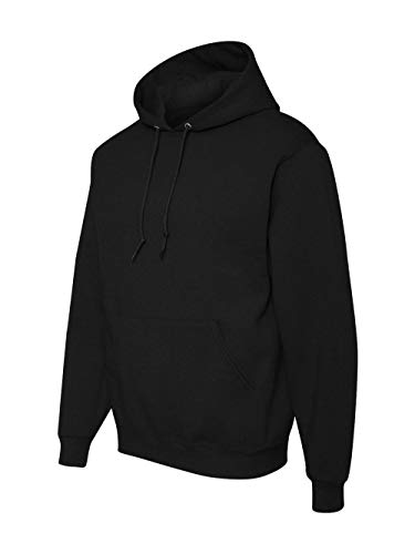 Jerzees 996T Adult Tall NuBlend Hooded Pullover Sweatshirt - Black, XLT