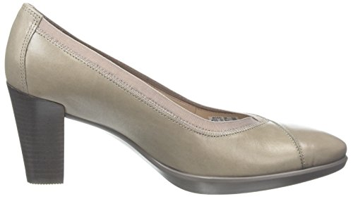 Moon Grey Closed Shape Toe Heels 55 Stack 1459 Women's Plateau Rock ECCO qFpAzwF