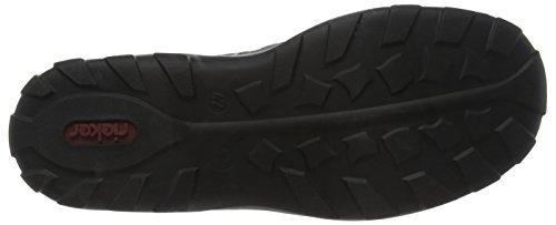 Sneakers Men 08065 Schwarz Gris Rieker Rauch Hombre Zapatillas fP1wxqRzq