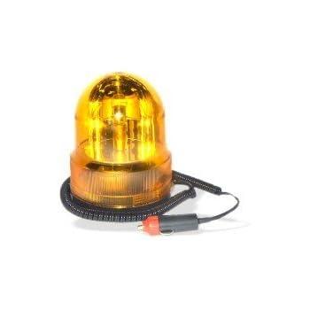 Amazon Com 12 Volt Flashing Emergency Light Amber