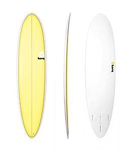 Surfboard TORQ Epoxy 7.6 Funboard Yellow