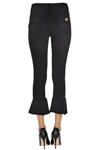 Franchi Elisabetta Mujer Algodon Mcgldnm000005019e Negro Jeans SnBqHwxR