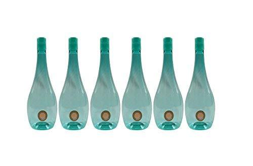 Harsh Pet Plastic 1L Water Bottle, Set of 6 for ₹300