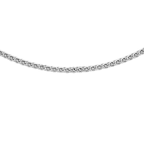 Carissima Gold - Chaîne maille spiga - Or blanc 9 cts - 51 cm - 5.19.3815