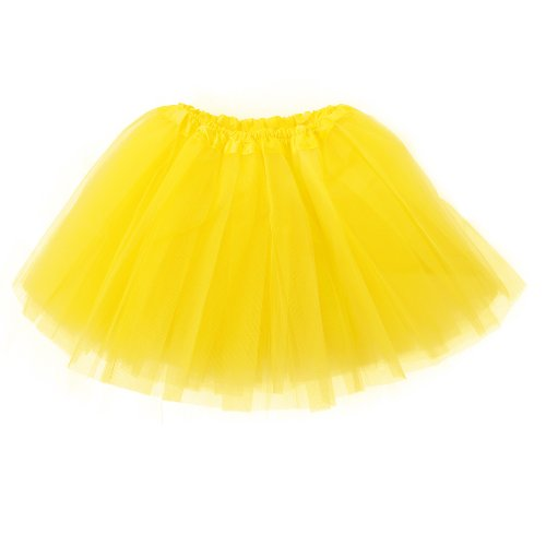 Imax-cite Girls 3 Layers Tutu Skirt Ballet Petticoats Dancewear Fancy Dress Party Dancewear Fairy Dress