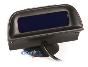 Crimestopper CA-5025 Front and Rear Parking Assist System with Windshield Mounted LCD Display