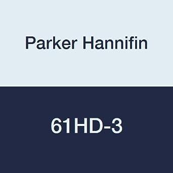 Parker Hannifin 61HD-3 Hi-Duty Brass Nut/Sleeve Fitting, 3/16' Compression Tube 3/16 Compression Tube Parker Hannifin Corporation