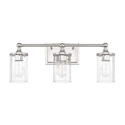 Capital Lighting 120731PN-423 Three Light Wall Sconce