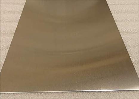 Metal Off Cuts Prime Quality 4.0mm Aluminium Sheet 116mm x 70mm
