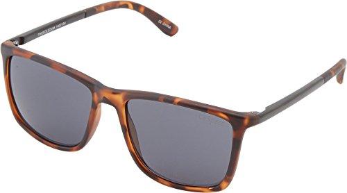 Le Specs Tweedledum LSP1402184 Rectangular Sunglasses, Matte Tortoise, 55 - Specs Sunglasses Mens Le