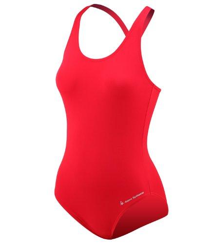Aqua Sphere Women's Pamela Active Swim Swimsuit US Size 8 Red