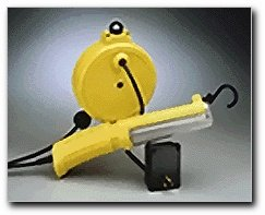 ALERT STAMPING & MFG 13RPL-20E Work Light with 20-Inch 18/2 SJT Cord Reel, Fluorescent