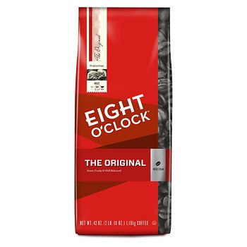 Eight O'Clock Original Arabica Whole Bean Coffee, 42 oz. AS