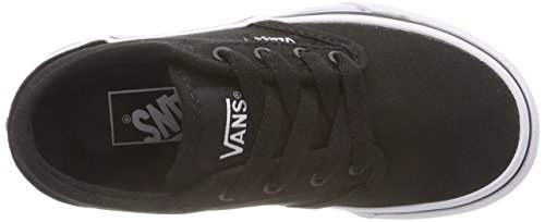 White Basses Atwood Taupe Noir Canvas Black Classic Ufz Vans Sneakers Checker Garçon Emboss wBxnxPA