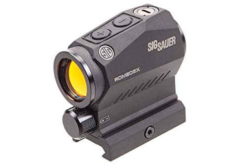 Sig Sauer SOR52101 Romeo5 2MOA Compact Red Dot Sight 1x20mm with Picatinny Mount by Sig Sauer
