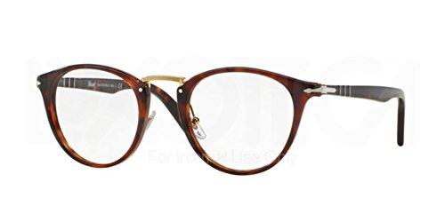 Persol Eyeglasses, Havana - Logo V Sunglasses