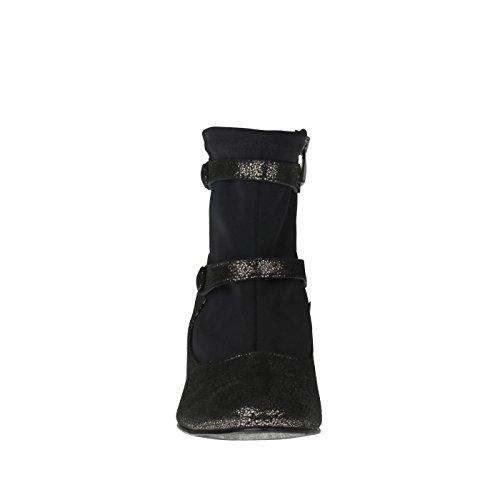 Damen Stiefelette Tessamino aus lederüberzogenem Fußbett Echtleder Schwarz mit Adqx6O