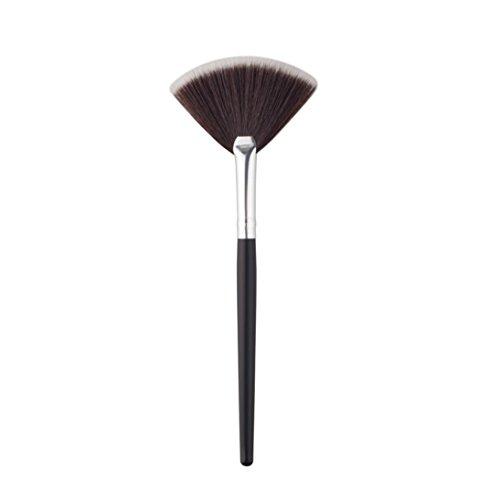 Super Soft,SMTSMT 2017 1Pc Fan Brush Portable Slim