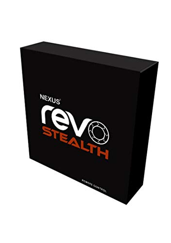 Nexus Revo 2 Rotating Prostate Massager Rechargeable, Black