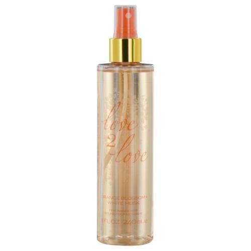 Love 2 Love Orange Blossom Plus White Musk Fragrance Mist for Her, 240 ml Coty LO2OBWF0924002