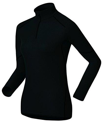 Odlo Damen Shirt Long Sleeve Turtle Neck 1/2 Zip X-Warm