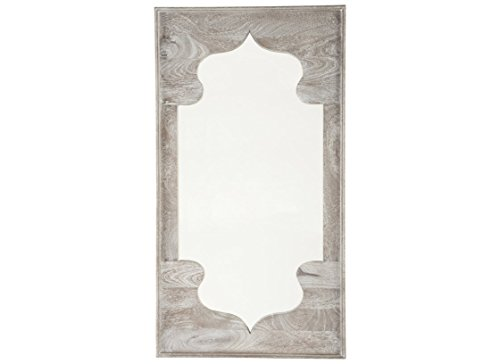 Signature Design by Ashley - Bautista Accent Mirror - Farmhouse Chic - - Style Bathroom Mirrors Roman