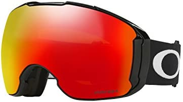 1234eafc25935 Amazon.com   Oakley Airbrake XL Snow Goggles Jet Black W  PRIZM Torch and  PRIZM Sapphire Lens   Sports   Outdoors