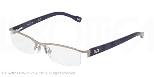 D&G DD 5095 Eyeglasses Matte Gunmetal / Blue - Frames Optical D&g