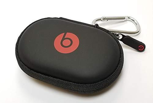 Hard Case for Powerbeats 3, 2 & 1, BeatsX, UrBeats, Tour, iBeats, Lady Gaga, Diddy Beats and All Beats Monster Earphones/Earbuds Wired or Wireless Model. by: GeneralBuy. (Silver)