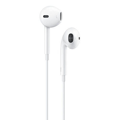 Apple EarPods 827 In-Ear StereoHeadphones with Remote and Mic - White