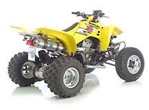 Leo Vince X3 Quad-Alu-Endtopf KFX/LTZ 400, e-geprüft