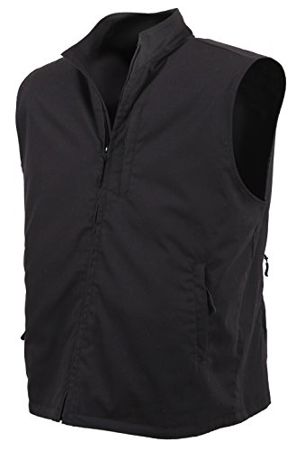 Rothco Undercover Travel Vest, Black, Large