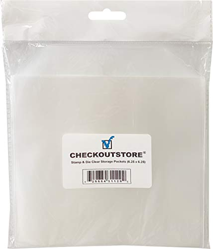 CheckOutStore Clear Storage Pockets 6 25