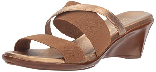 Shoemakers Women's Slide Bronze Sandal ITALIAN Luggage Lorel PfvU44W