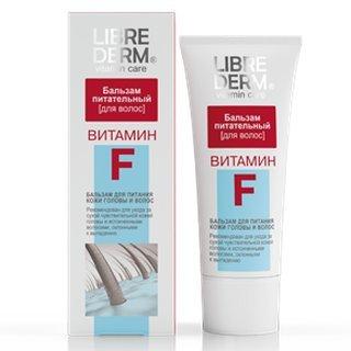 Bálsamo nutritivo Librederm para el cabello con vitamina F, 200 ml