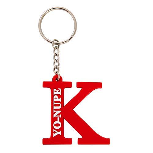 (Kappa Alpha Psi Fraternity Kappa Symbol Keychain PVC Material Decorative YO-NUPE)