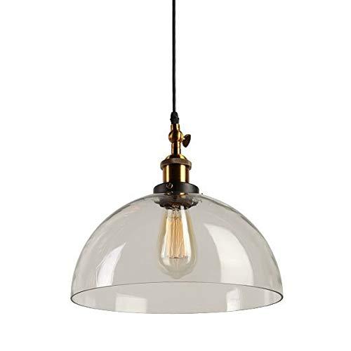 Maxmer Lámpara Vintage Colgante Luz Industrial Lámpara de ...