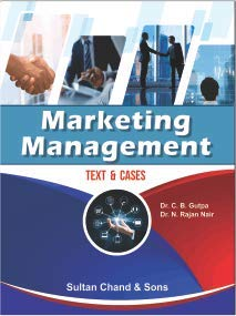 Marketing Management Taxt & Cases