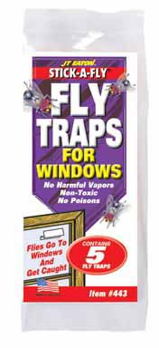 - Stick-A-Fly Fly Trap for Windows