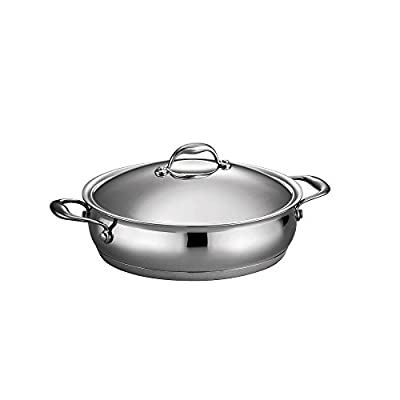 Tramontina Gourmet Domus Tri-Ply Base Covered Braiser