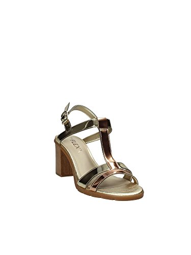The Flexx D6015_08 High Heeled Sandals Women Platino uYwNTcu