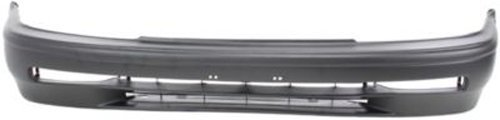 CPP Primed Front Bumper Cover Replacement for 1991-1993 Honda Accord ()