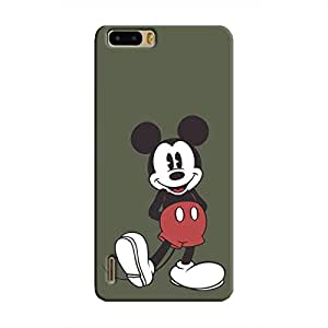 Cover It Up - Happy Mickey Honor 6 Plus Hard Case