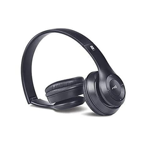 iBall Foldable &Multifunctional BT Headset Bluetooth Headset with Mic
