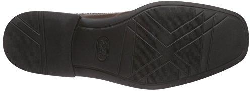 Manz Roma - zapato oxford de cuero hombre marrón - Braun (T.d.moro 187)