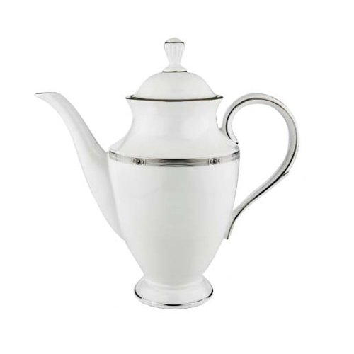 - Lenox Westerly Platinum Bone China Coffeepot