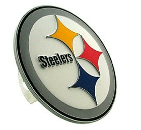 - Siskiyou Pittsburgh Steelers Logo Trailer Hitch Cover