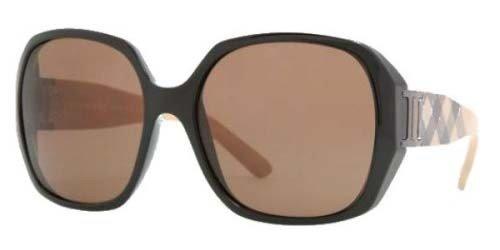 Burberry Sunglasses BE4086 300173 Black/Brown 57mm