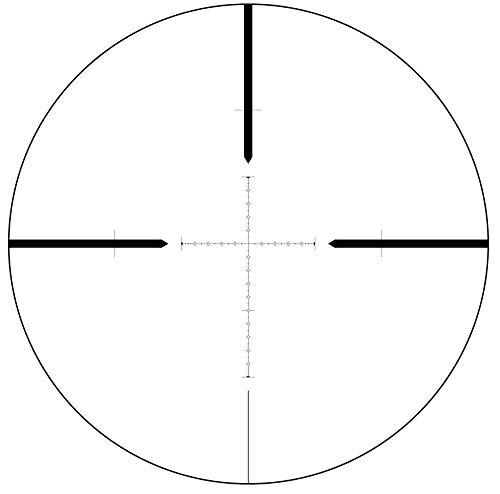 SWFA SS 10x42 Tactical Riflescope Mil-Quad Reticle 1/10 Mil Adjustments Rear Focus SS10X42MQ