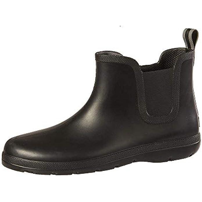totes Men's Cirrus Ankle Rubber Rain Boot